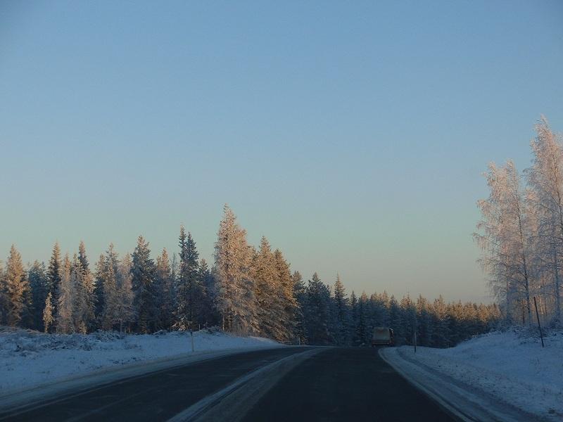 to Kuusamo